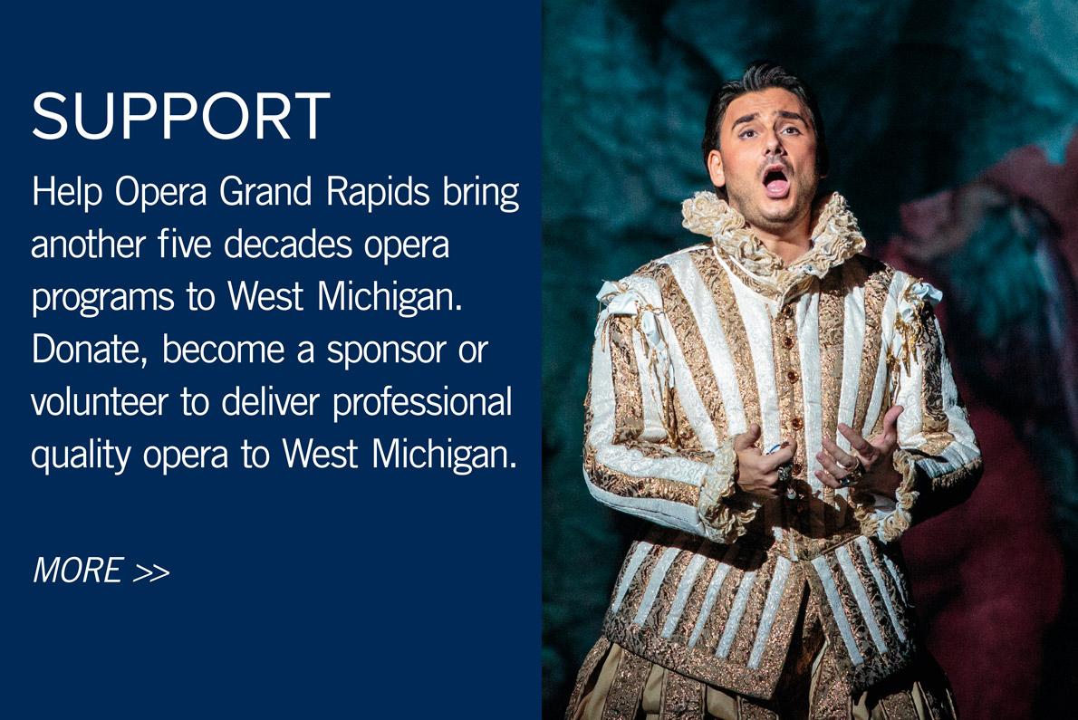 Support Opera Grand Rapids