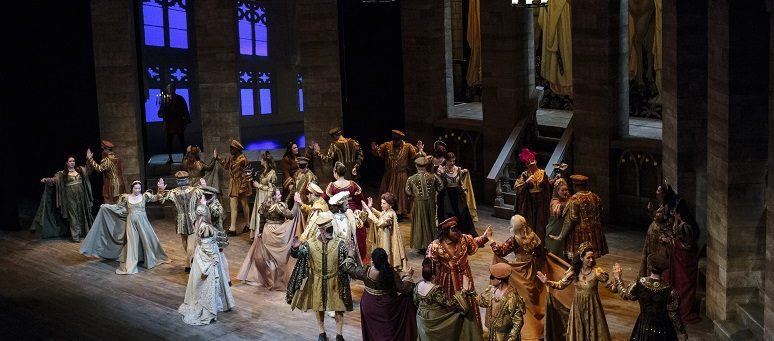 Scenes from Romeo and Juliet by Charles Gounod at DeVos Performance Hall in 2016. (Photo Opera Grand Rapids)