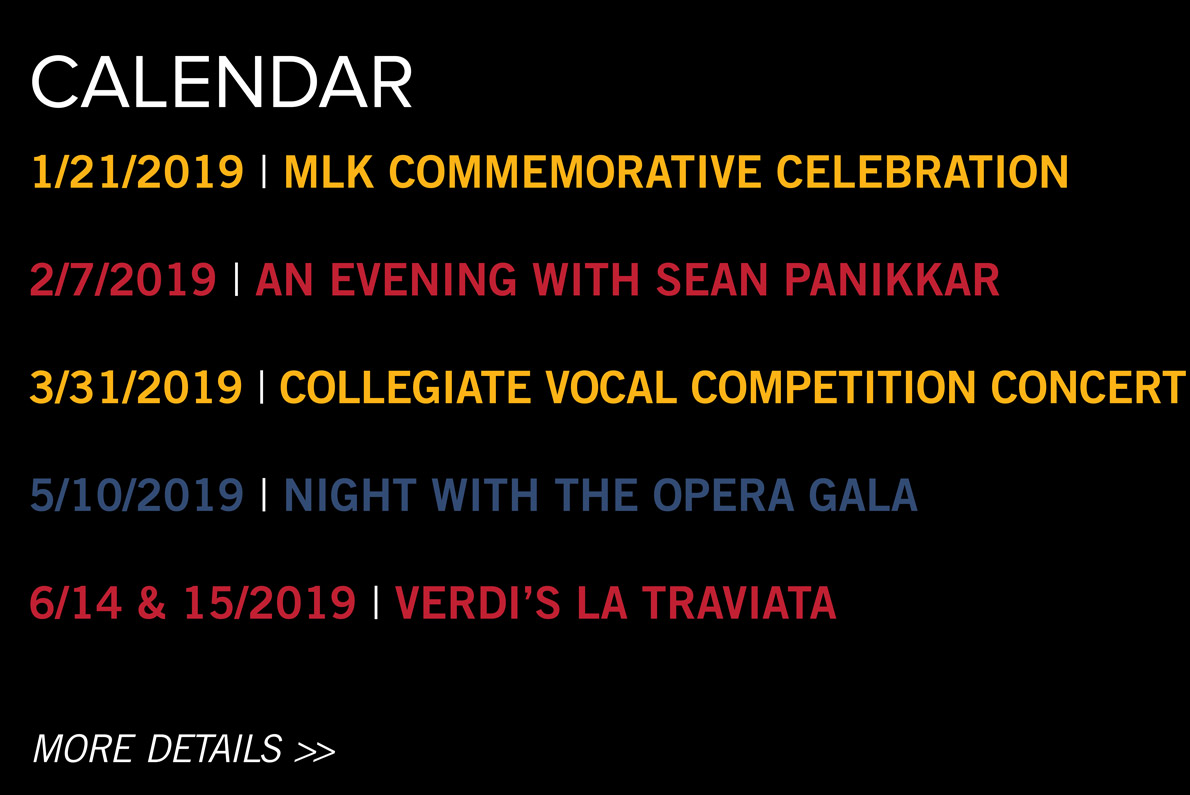 View our calendar of upcoming events