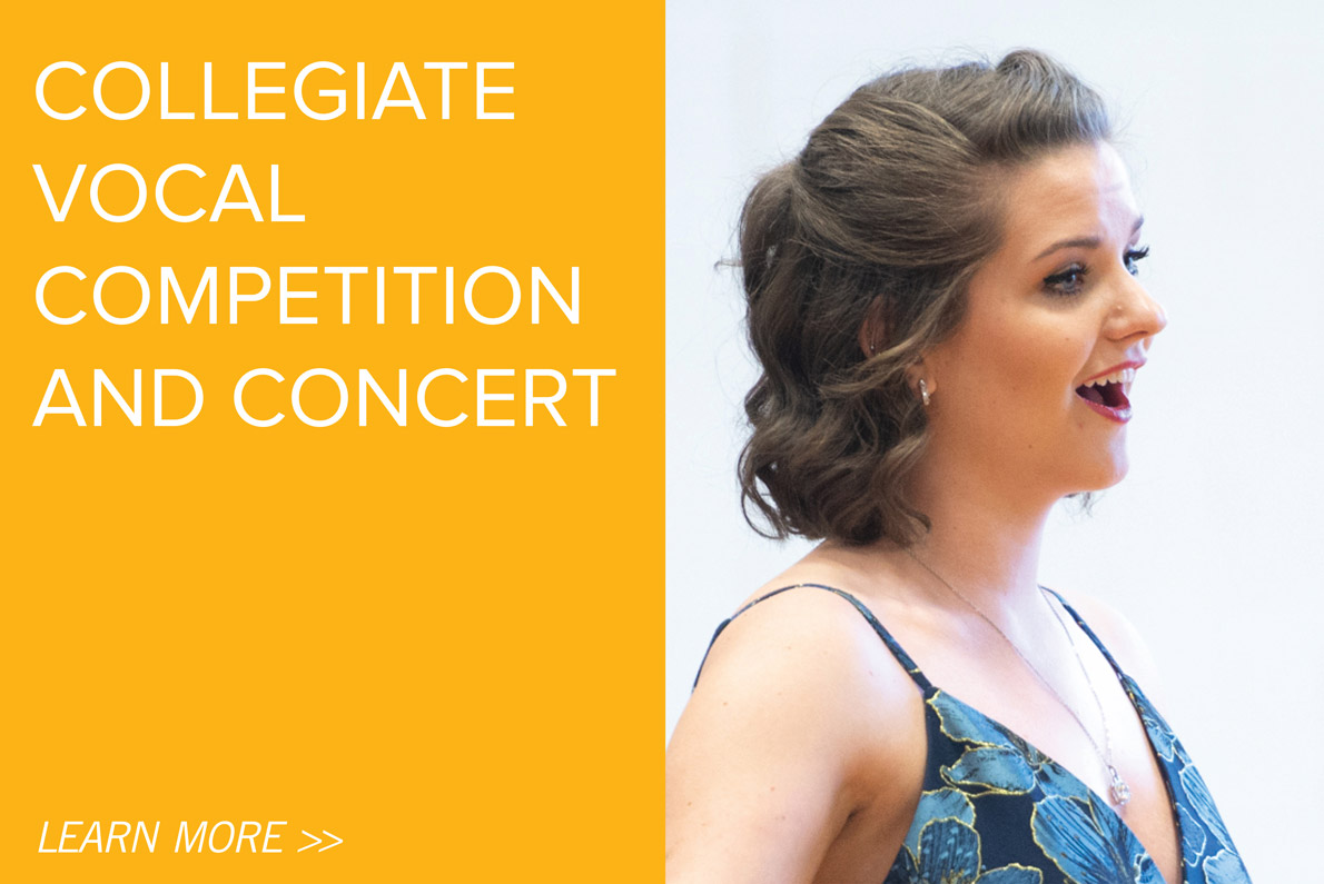 Collegiate Vocal Competition and Concert
