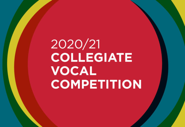 2021 Collegiate Vocal Competition