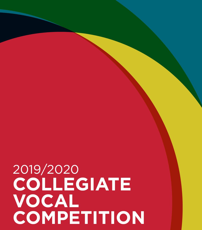 2019/20 Collegiate Vocal Competition
