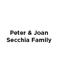 Peter & Joan Secchia Family
